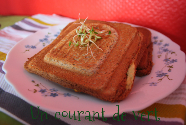 croque-monsieur vegan