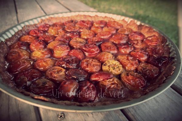 Tarte aux prunes bis