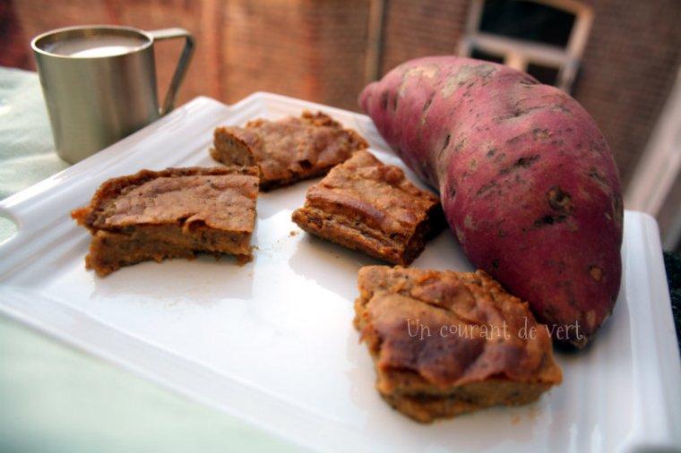 flan de patate douce vegane blog