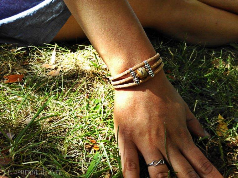 bracelet en liège 2