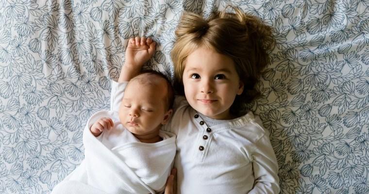 bébé et enfant végétalien illustration