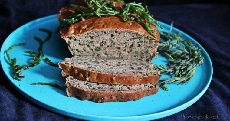 cake végane aux salicornes