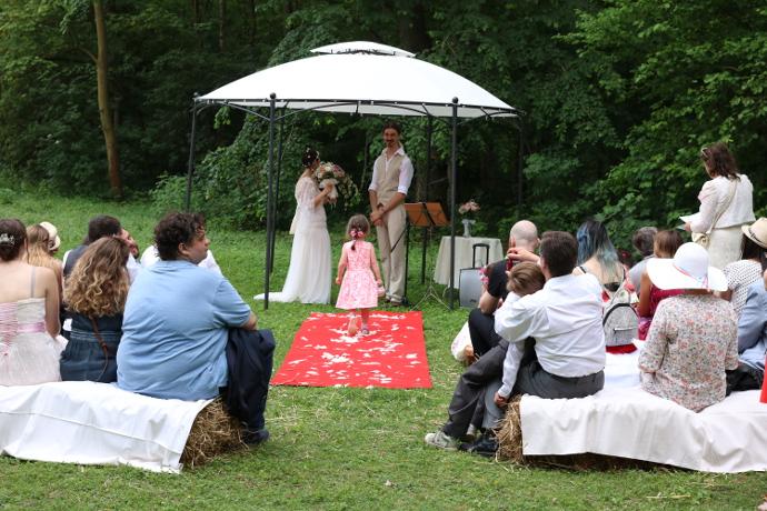 cérémonie laïque handfasting