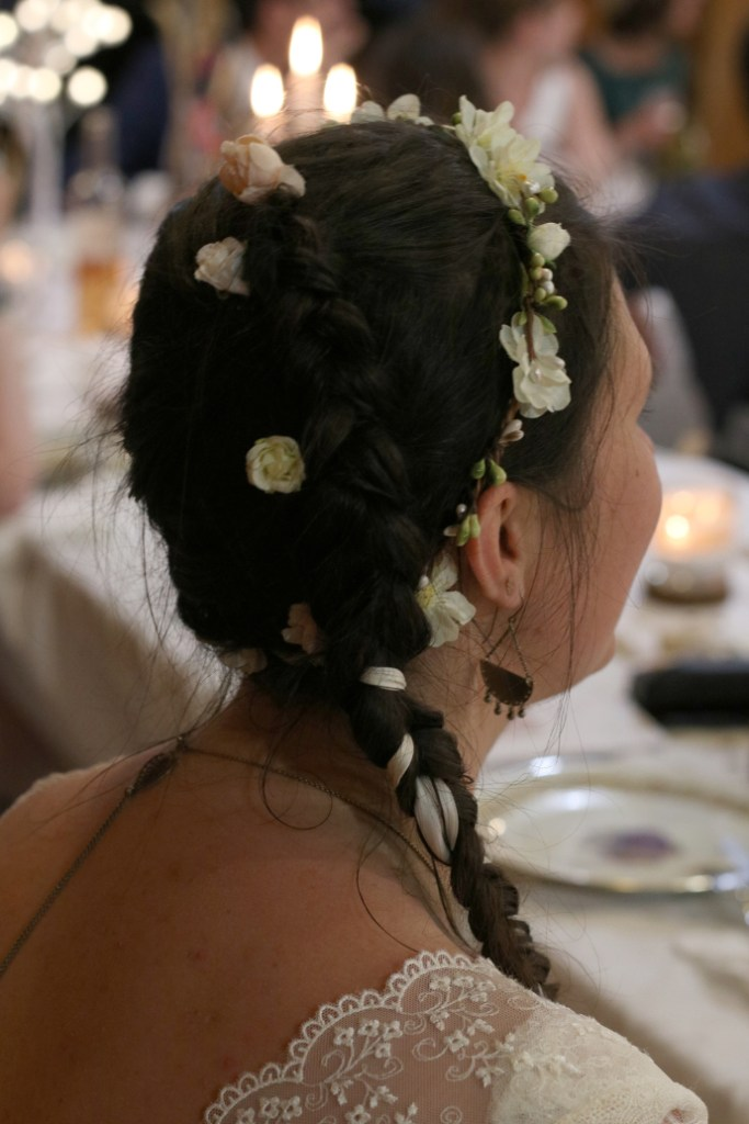 bijoux et coiffure mariage