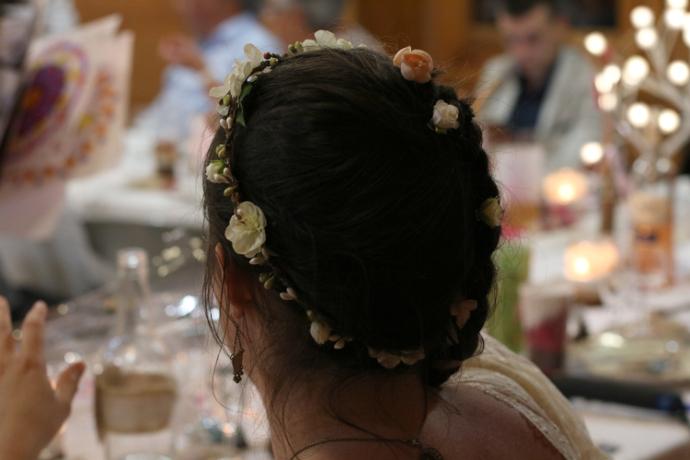 coiffure mariage dos