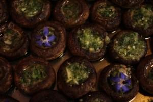 champignons beurre maître d'hôtel véganes