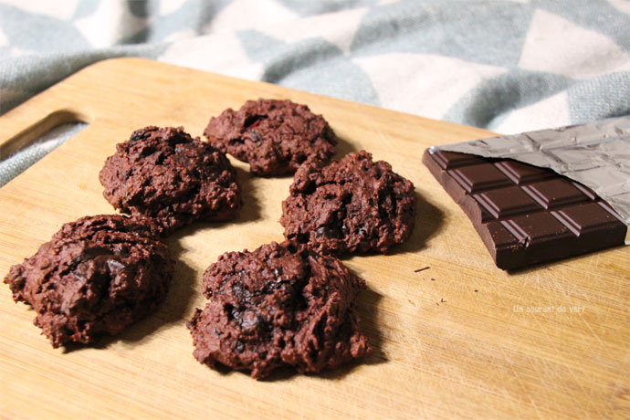 cookies vegane choco betteraves