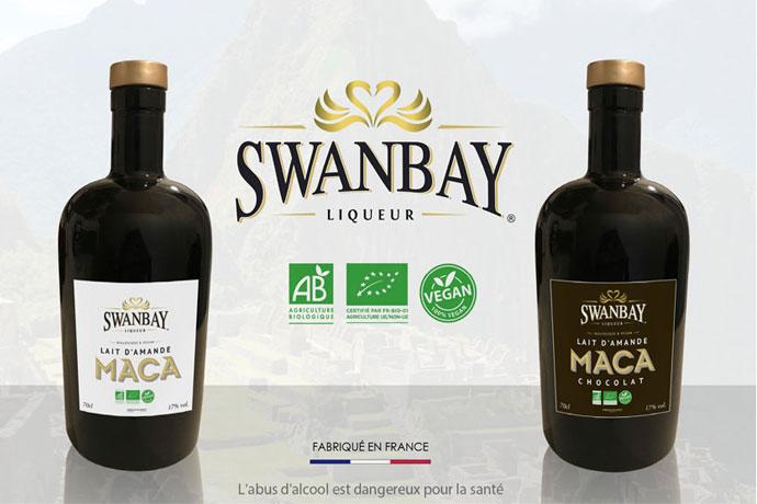 liqueurs véganes Swanbay