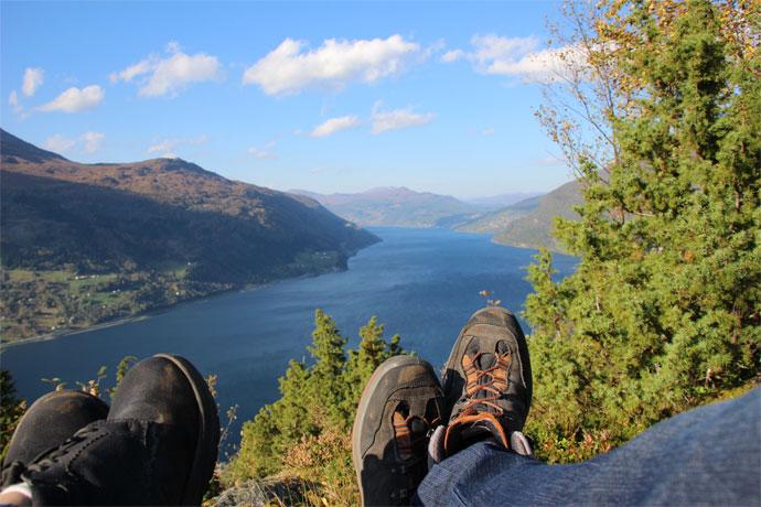 Vue de Norvège