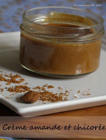 Crème végane amande et chicorée