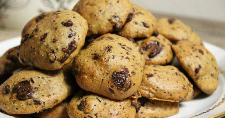 Cookies végétalien au sel rose de l'himallaya