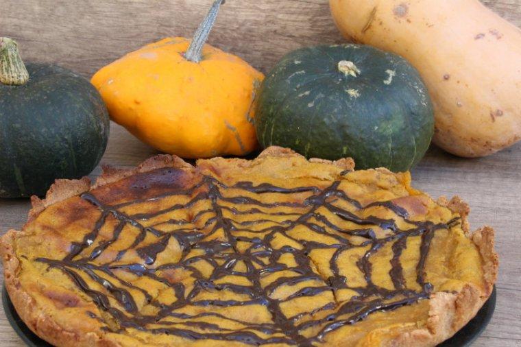 recette de vegan pumpkin pie