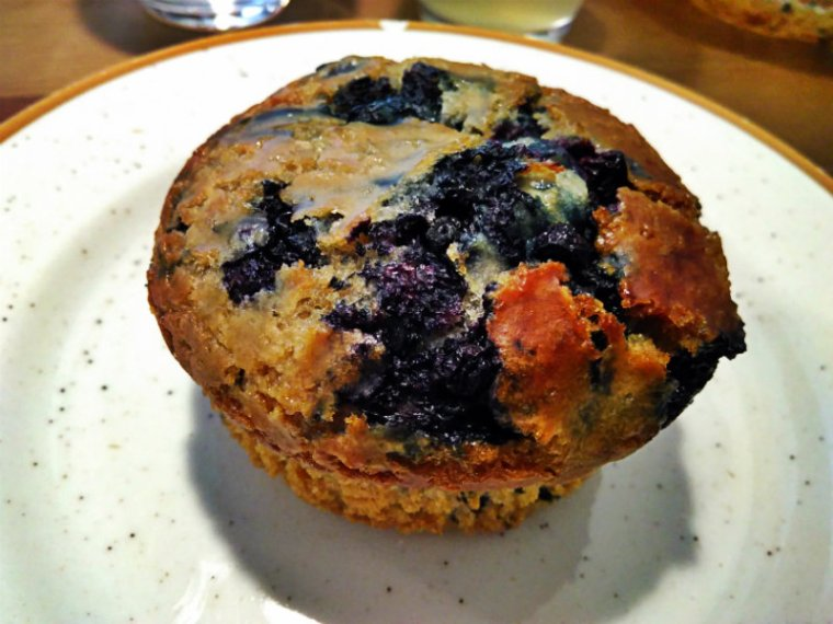 Muffin végétalien à la Face B à Lille