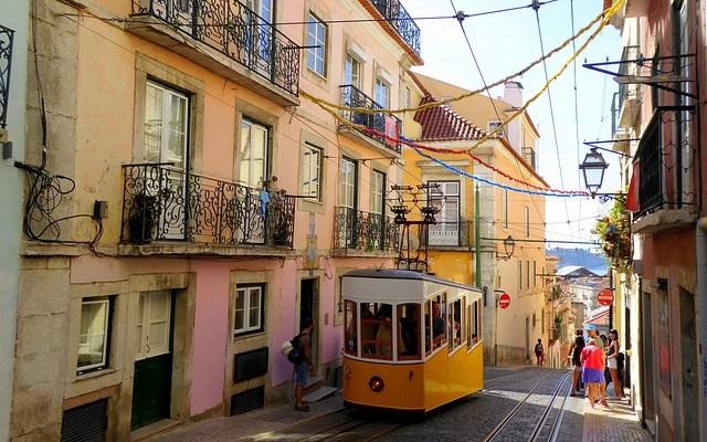 Lisbonne téléphérique