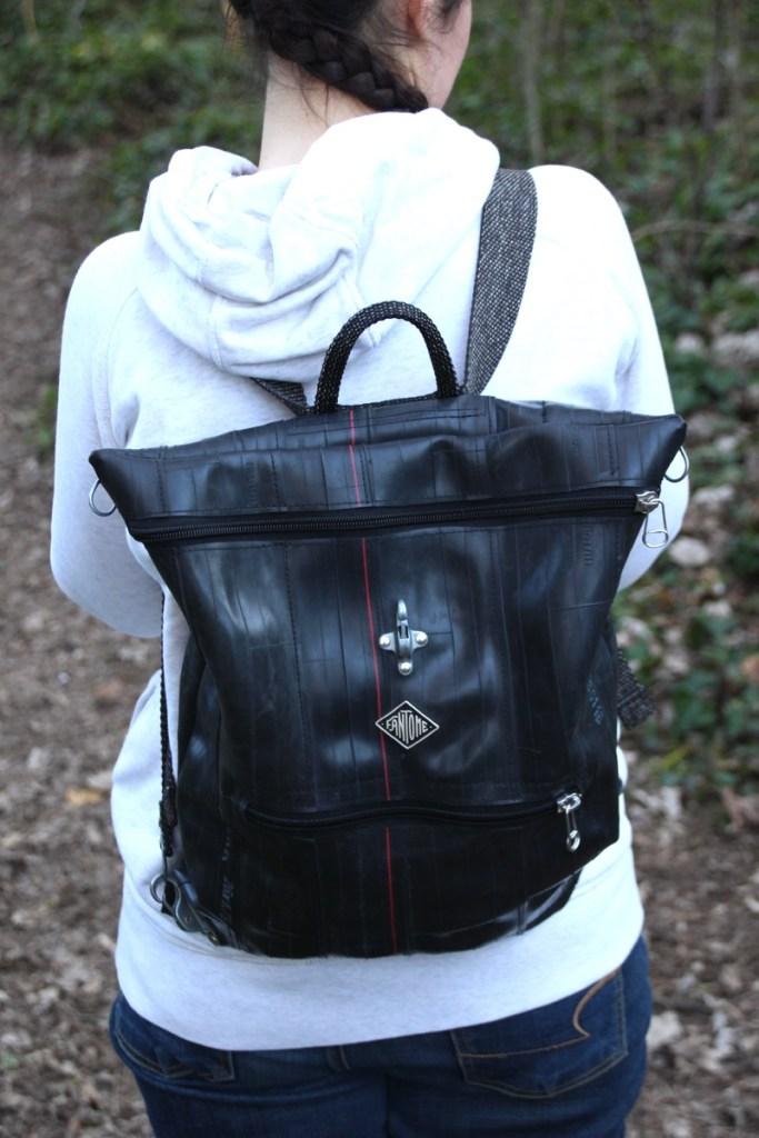 sac à dos saute ruisseau porté