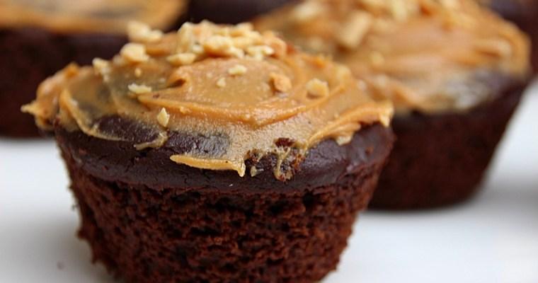 Muffins végétalatiens au chocolat et au pois chiche à IG bas