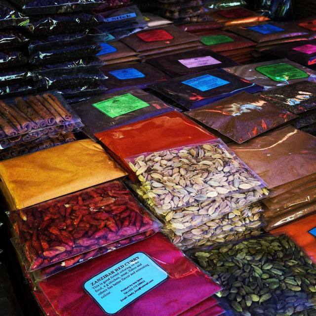 The many spices of Zanzibar uncovertravel spicemarket spices Zanzibar stonetownhellip