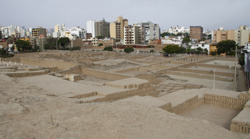 Huaca Pucllana, a Step Pyramid in the Centre of Lima