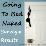 Going to bed naked survey results