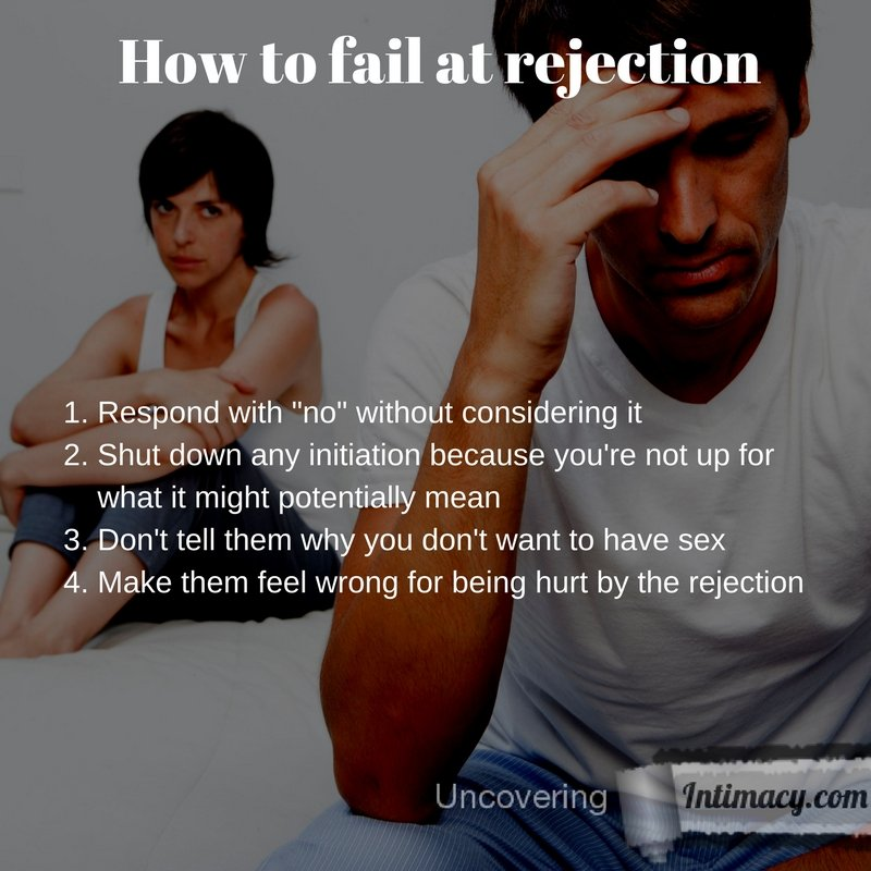How to fail at rejection