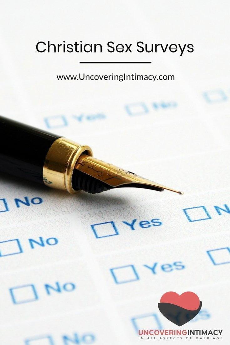 Christian Sex Surveys