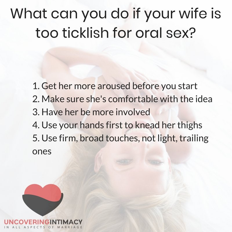 Starting oral sex after years marriage