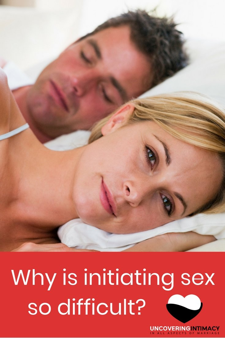 Ask your wife to initiate sex
