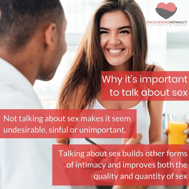 Why it's important to talk about sex
