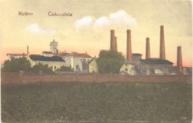 Postcard of the Sugar Factory in Kutno