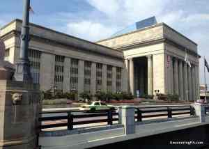 30th Street Station in downtown Philadelphia, Pennsylvania.