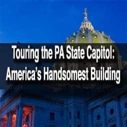 Touring the PA State Capitol in Harrisburg