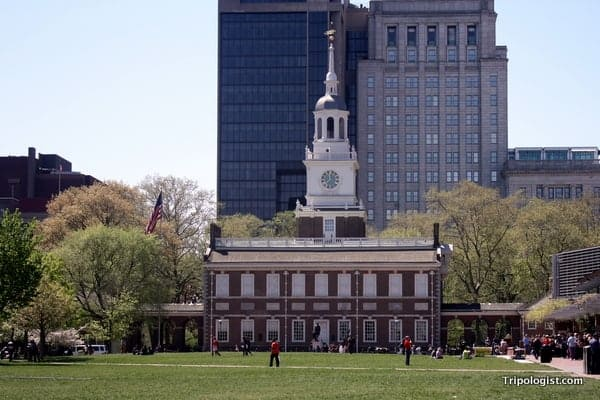 Independence Hall is one of the many National Park Service sites in Pennsylvania.