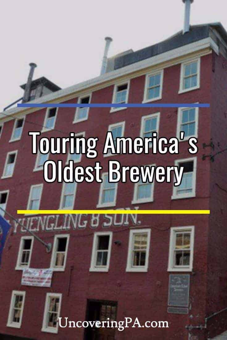 Touring the Yuengling Brewery in Pottsville, Pennsylvania