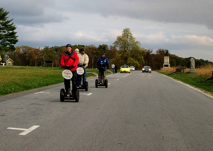 I doubt there's a more fun way to see Gettysburg than on a Segway Tour!