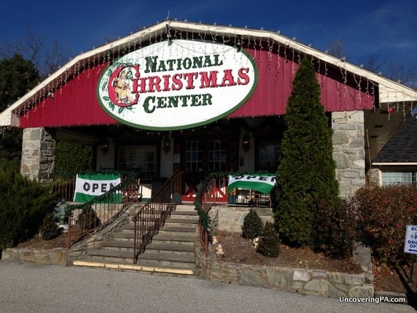 Things to do in PA in January: National Christmas Center