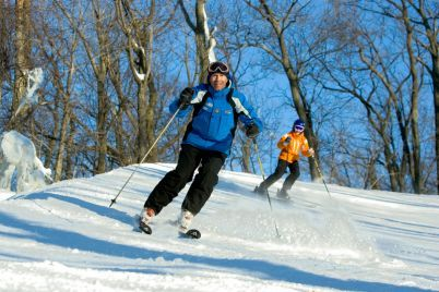 Getting a pass for one of Pennsylvania many great ski resorts can complete any stocking! (Photo used courtesy of Roundtop Mountain Resort.)