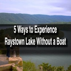 Things to do at Raystown Lake PA