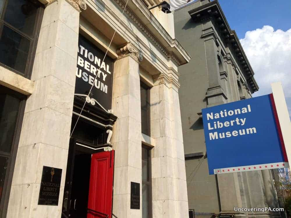 Visiting the National Liberty Museum in Philadelphia, Pennsylvania.
