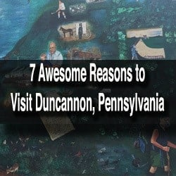 Things to do in Duncannon PA