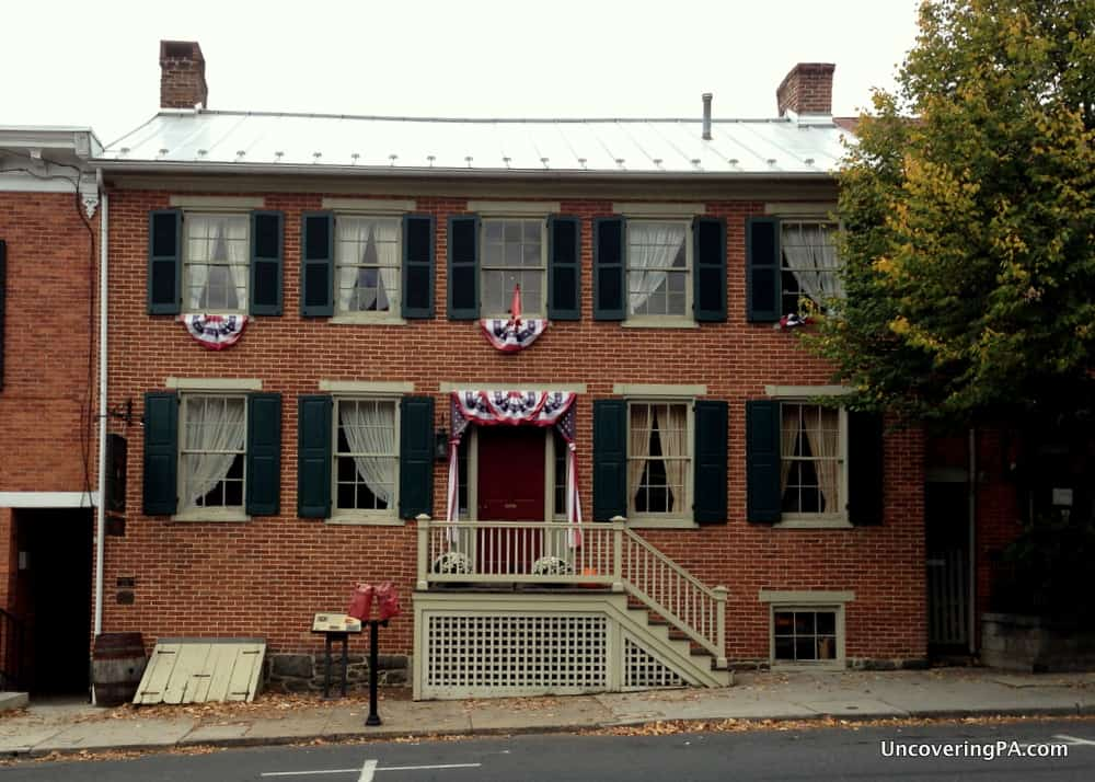 Visiting the Shriver House in Gettysburg, Pennsylvania