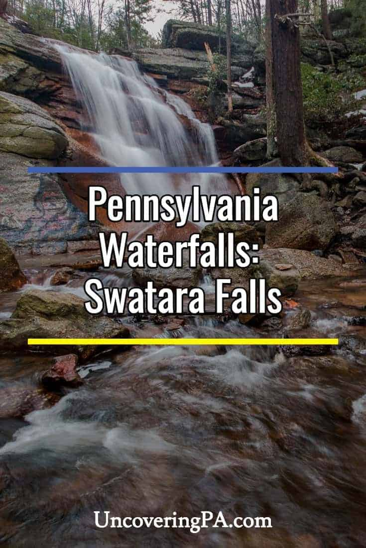 Pennsylvania Waterfalls: How to Get to Swatara Falls