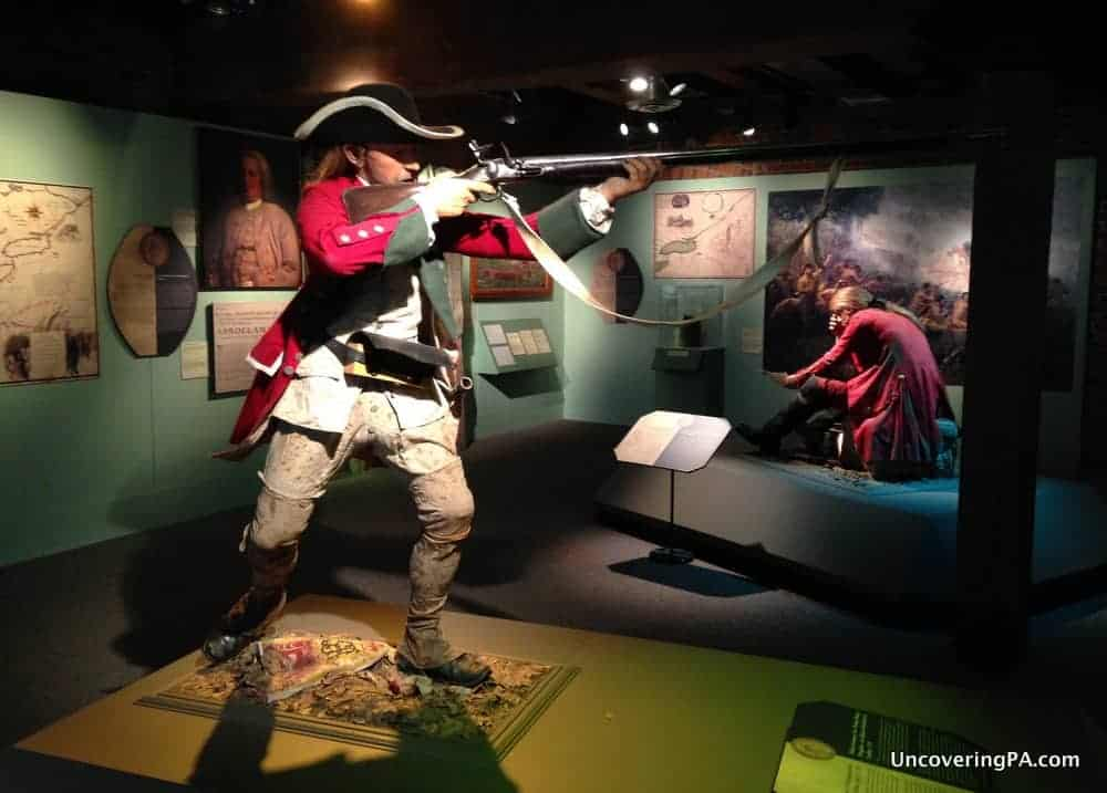 Visiting the Heinz History Center in Pittsburgh, Pennsylvania.