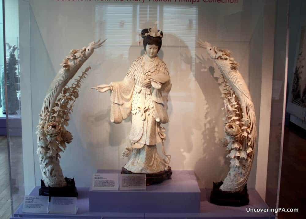 Visiting the Maridon Museum in Butler, Pennsylvania.