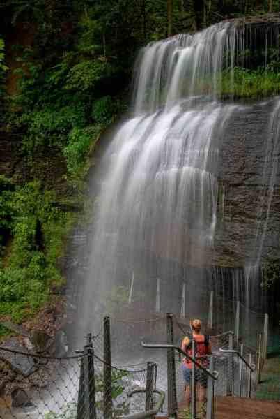 Buttermilk Falls in Indiana County, Pennsylvania
