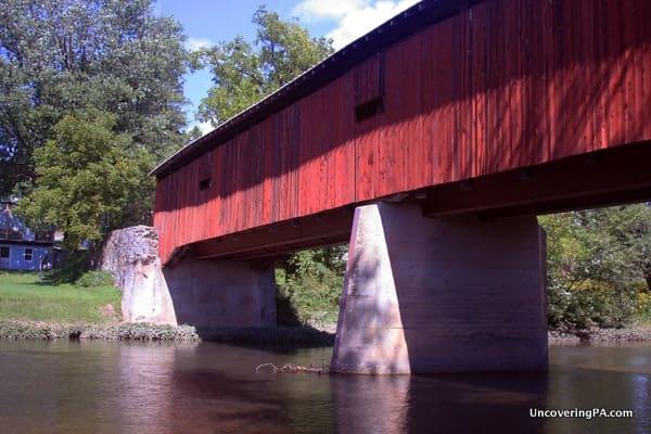 Dellville Covered Bridge near Duncannon.