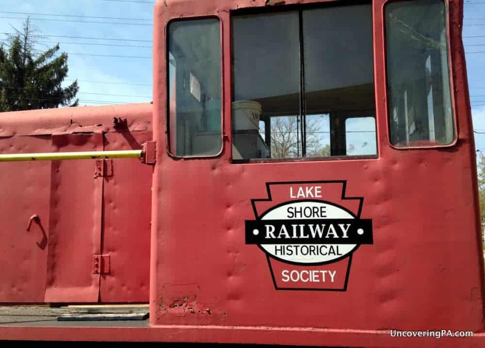 Visiting the Lake Shore Railway Museum in North East, Pennsylvania.