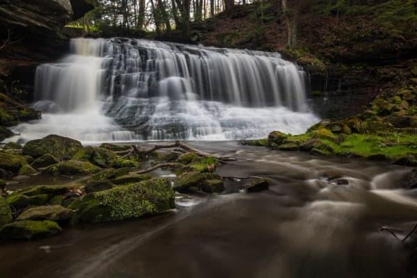 Springfield Falls near Grove City, Pennsylvania