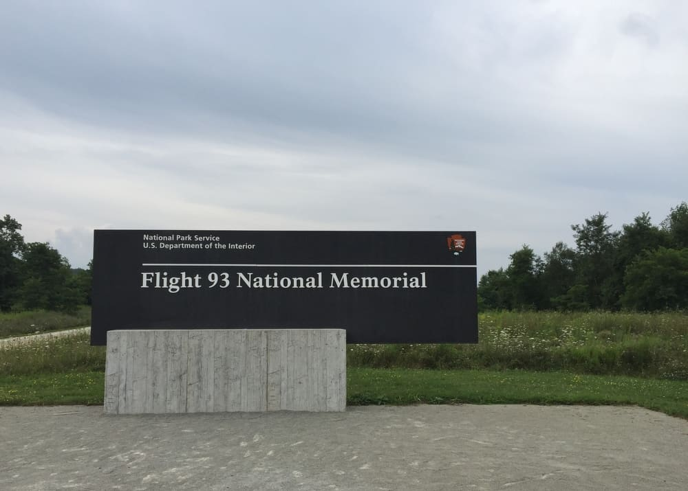 Visiting the Flight 93 National Memorial near Somerset, Pennsylvania