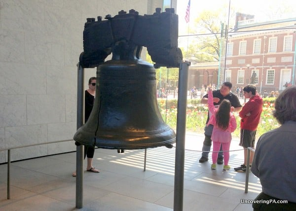 Visiting the Liberty Bell is a completely free thing to do in Philadelphia.