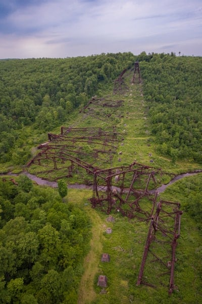 Visiting Kinzua Bridge State Park in Pennsylvania